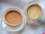 P.A.C Shimmer Base Gold (01),Sunset (02) Review, Swatches