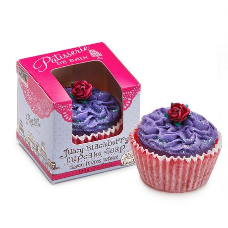 rose and co cupcake soap