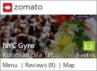 NYC Gyro Menu, Reviews, Photos, Location and Info - Zomato