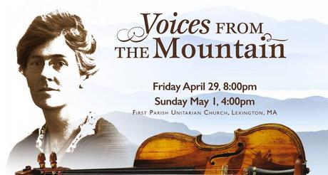 """Voices from the Mountain"" in Lexington April 29 and May 1"