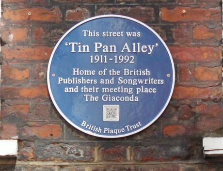 #plaque366 Tin Pan Alley