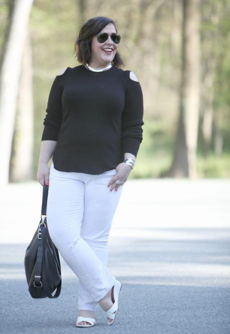 What I Wore: Contrast [Sponsored]