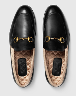 Quilt To Last: Gucci Jordaan Leather Loafers