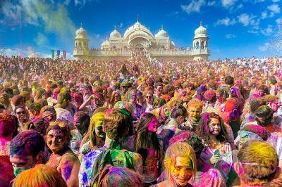 Of Church Color Runs and Hindu Holi Festivals