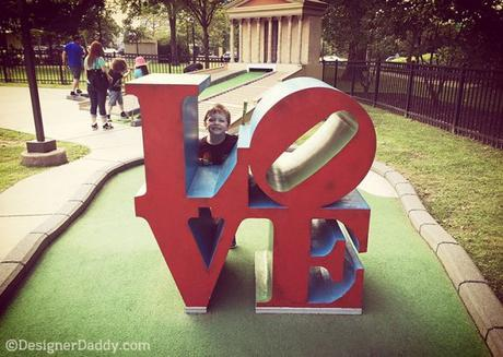Philadelphia family fun —Franklin Square Park