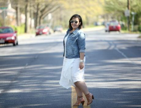What I Wore: White Before Memorial Day