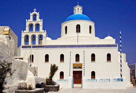 Santorini chapel for Civil and  Churches  for Greek Orthodox weddings