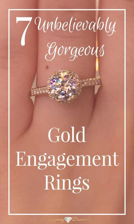 7 Unbelievably gorgeous gold engagement rings