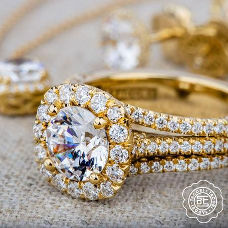 Tacori Gold engagement rings