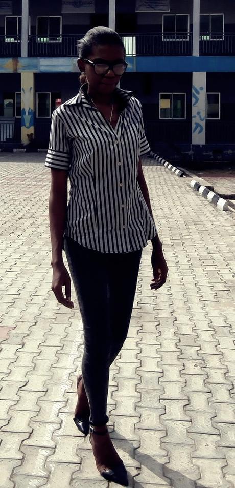 Minimalism // Stripe Shirt