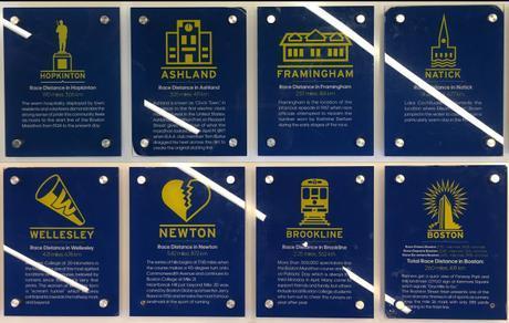 8 towns of the Boston Marathon