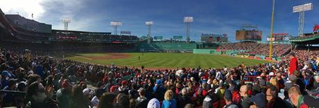 Fenway Park panoramic view