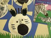 Project: ZEBRA with PAPER PLATES
