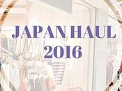 Japan Haul 2016