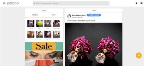 Roposo: a Fashion Social Network