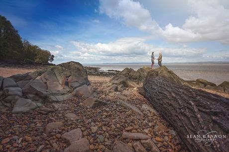Engagement Photographer Bristol - Pre Wedding Shoot on a Beach near Bristol