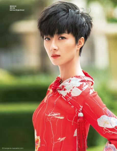 Actress Gwei Lun-Mei in Armani © Benjamin Kanarek