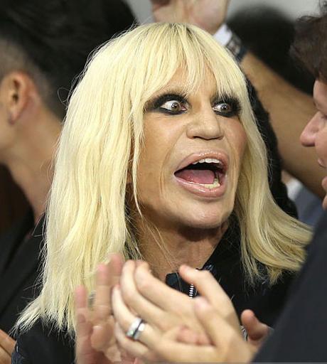 Donatella Versace, 61, in 2016
