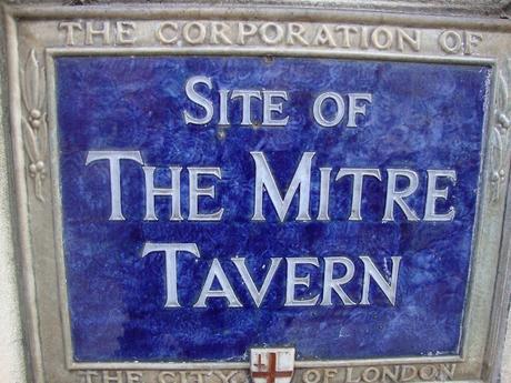#plaque366 The Mitre Tavern