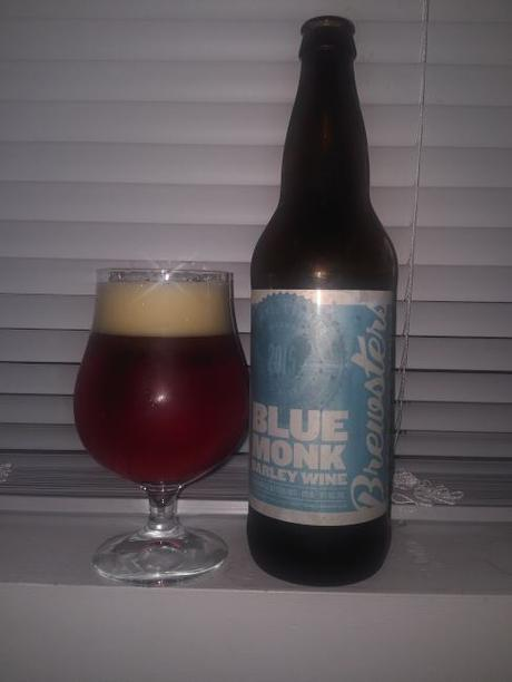 Blue Monk Barley Wine 2015 – Brewsters Brewing Company
