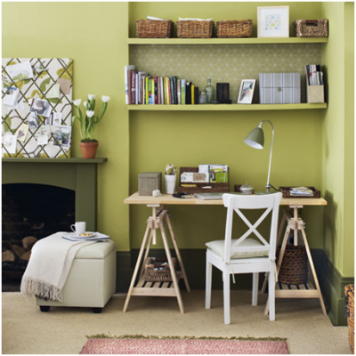 How to create beautiful and functional flooring for your home office