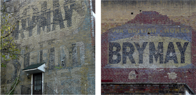 Brymay Safety Matches – hints of another ghostsign spotted