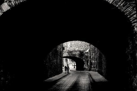 The exit from one of the tunnels. Fujifilm X-T1