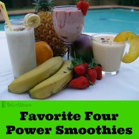 Favorite Four Power Smoothies