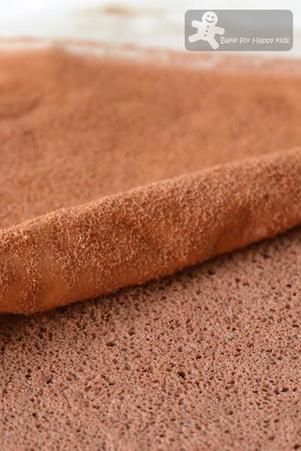 Cottony Soft Chocolate Rice Swiss Roll - Asian Style