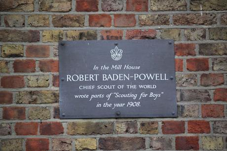 #plaque366 Baden-Powell #Wimbledon