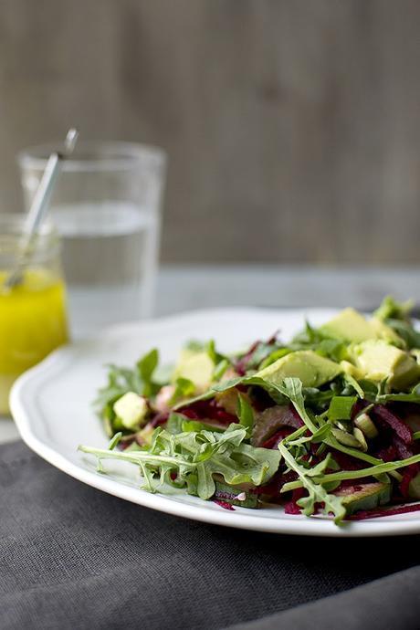 Detox Salad with Beets & Arugula