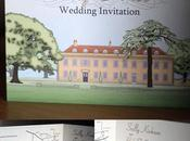 Holbrook House Illustrated Wedding Stationery