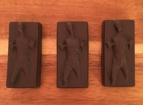 "Make This: Caramel-filled Han Solo in Carbonite a.k.a. ""Han Rolos"""
