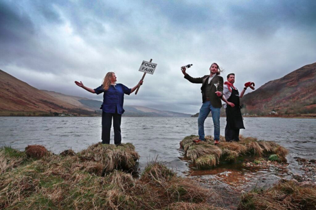 Loch Fyne food fish festival Glasgow foodie explorers