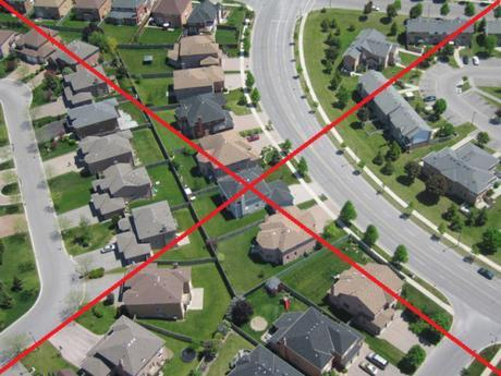 middle-class suburbia