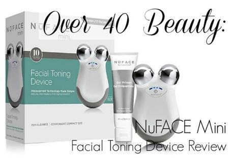 Over 40 Beauty: NuFACE Mini Device Review