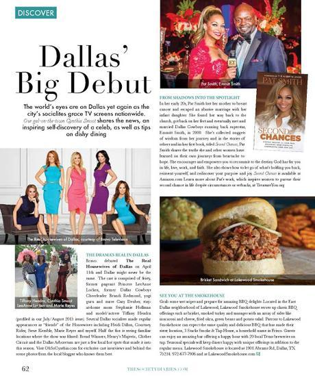 The Society Diaries (May/June 2016) Spotlights Second Chances, BBQ and Real Housewives of Dallas