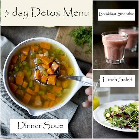 3 Day Clean Eating Detox Diet -- My Experience and the Outcome
