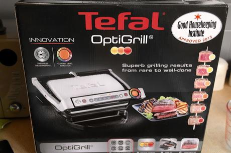 Steak night with the Tefal Optigrill // Food Review