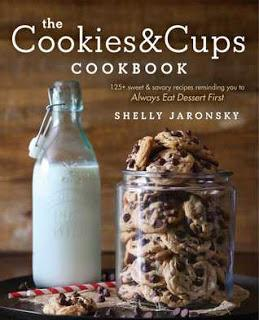 The Cookies & Cups Cookbook by Shelly Jaronsky- Feature and Review