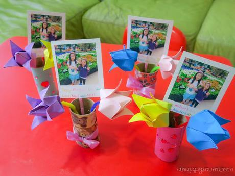 Creativity 521 #91 - Origami Tulips for Mother's Day