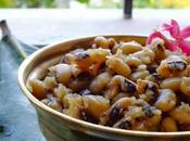 Karamani Sweet Sundal Make