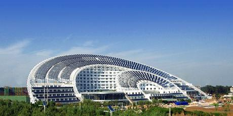 The World's Largest Solar Energy Office Building
