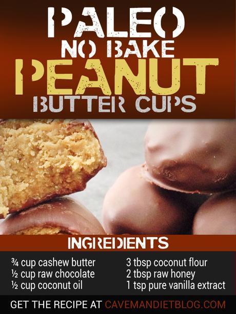 Paleo Dessert Recipes Chocolate Peanut butter cups ingredient image
