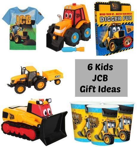 6 Kids JCB Gift Ideas