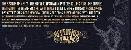 The Sisters Of Mercy, The Brian Jonestown Massacre and more acts confirmed for REVERENCE VALADA 2016