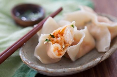Red Curry Shrimp Dumplings