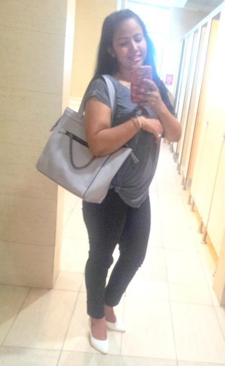 Forever21 Grey Bag