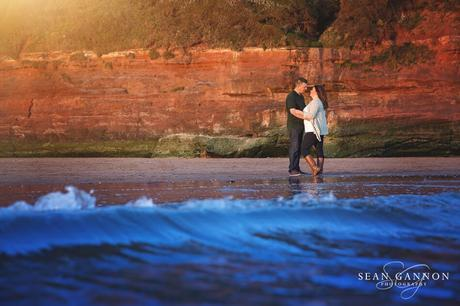 Portishead Wedding Photographer -  Couple shots by the sea
