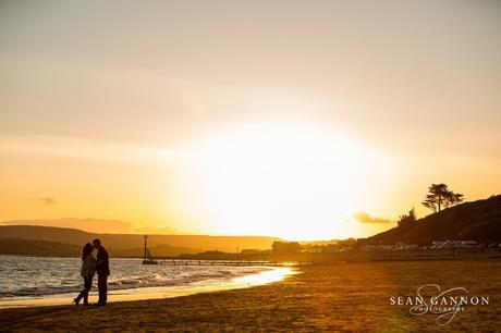 Portishead Wedding Photographer -  Portraits on the beach